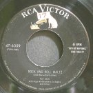 KAY STARR~Rock and Roll Waltz~RCA Victor 6359 (Rock & Roll) VG+ 45