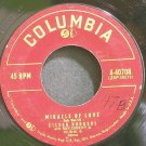 EILEEN RODGERS~Miracle of Love~Columbia 40708  45