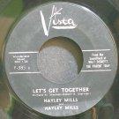 HAYLEY MILLS~Let's Get Together~Buena Vista F-305 Y  45