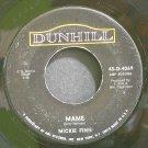 MICKIE FINN~Mame~Dunhill 45-D-4069 (Dixieland/New Orleans Jazz) Rare 45