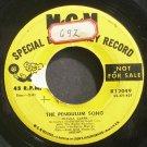 PETULA CLARK~The Pendulum Song~MGM K12049 Promo Rare 45