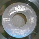 REO SPEEDWAGON~Keep on Loving You~EPIC 50953 (Classic Rock)  45