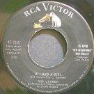 ROD LAUREN~If I Had a Girl~RCA Victor 7645  45
