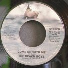 BEACH BOYS~Come Go with Me~Caribou 02633 (Surf Rock)  45