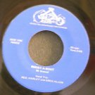 GREG & HARELY ALLEN~Roust-A-Bout~King Bluegrass 740408 VG+ 45