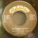 JEFFERSON STARSHIP~Miracles~Grunt 10367 (Classic Rock) VG+ 45