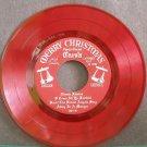 ROBERT RHEIMS~Merry Christmas Carols~Private Press 301 (Christmas) Clear Red 45 EP