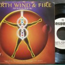 EARTH, WIND & FIRE~Fall in Love with Me (Promo)~Columbia 03375 (Funk) Promo M- 45