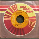 HANK LOCKLIN~Love the Devil Out of Me~RCA 1014 VG+ 45