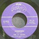 C NOTES~Sundown~Peak 1 (Gospel) M- 45