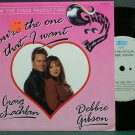 CRAIG MCLACHLAN & DEBBIE GIBSON~You're the One That I Want~EPIC 7 (Synth-Pop) M- UK 45