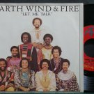 EARTH, WIND & FIRE~Let Me Talk~ARC 11366 (Soul) VG++ 45