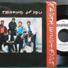 EARTH, WIND & FIRE~Thinking of You~Columbia 07695 (Disco) Promo VG++ 45