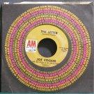 JOE COCKER & LEON RUSSELL~The Letter~A&M 1174 (Blues) VG+ 45