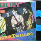REAL LIFE~Catch Me I'm Falling~Curb 52362 (Synth-Pop) VG++ 45