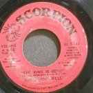 RONNIE MCDOWELL~The King is Gone~Scorpion 135 (Rock & Roll) VG+ 45