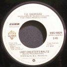 T.G. SHEPPARD~Last Cheater's Waltz~Warner Bros. 49024 VG++ 45