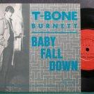 T-BONE BURNETT~Baby Fall Down~Side Effects 1021 (Indie Rock) VG+ UK 45