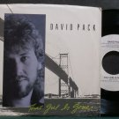 DAVID PACK~That Girl is Gone~Warner Bros. 28892-DJ Promo M- 45