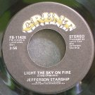 JEFFERSON STARSHIP~Light the Sky on Fire~Grunt 11426 (Soft Rock) Rare VG+  45