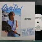 OWEN PAUL~As it Was~CBS 218 Promo M- UK 45