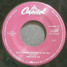 PRECIOUS UK~Say it Again (Cutfather & Joe Mix)~Capitol 58866-7-6 (General House) Jukebox M- 45