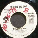 CHARLIE MCCOY~Release Me~Monument 8589 Promo VG+ 45