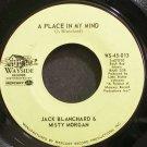 JACK BLANCHARD & MISTY MORGAN~A Place in My Mind~Wayside 45-013  45
