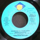 JONATHAN BUTLER~Haunted by Your Love~Jive 7-J (Guitar) Promo VG++ 45