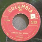 MARTY ROBBINS~Singing the Blues~Columbia 21545  45