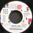 PARTLAND BROTHERS~Soul City~Manhattan P-B-50065 Promo VG++ 45