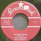 PETE FOUNTAIN~Tailgate Blues~Brunswick 55045 (Dixieland/New Orleans Jazz)  45