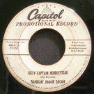 RAMBLIN' JIMMIE DOLAN~Jolly Captain Huddlestead~Capitol F3157 Promo Rare 45
