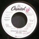 STRANGE ADVANCE~We Run~Capitol P-B-5470 (Synth-Pop) Promo VG++ 45