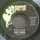 TOM JONES~Delilah~Parrot 45-PAR-40025  45
