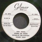 UNKNOWN ARTIST~Teen Angel~Gilmar 241  45 EP