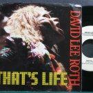 DAVID LEE ROTH~That's Life~Warner Bros. 28511 (Hard Rock) VG++ 45