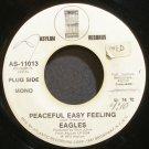 EAGLES~Peaceful Easy Feeling~Asylum 11013 Promo 45