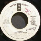 EAGLES~New Kid in Town (Stereo/Stereo)~Asylum 45373-X (Classic Rock) Promo 45