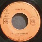 JAVIER SOLIS~Sin Fe Y Sin Religion~CBS 6743 Mexico 45