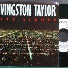 LIVINGSTON TAYLOR~City Lights~CRITIQUE 99255 Promo M- 45