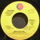 MADONNA~Who's That Girl~Sire 28341 (Downtempo) Promo 45