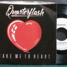 QUARTERFLASH~Take Me to Heart~Geffen 29603 (Synth-Pop) Promo M- 45