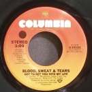 BLOOD, SWEAT & TEARS~Got to Get You Into My Life~Columbia 10151 (Classic Rock) VG+ 45