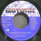 LIONEL RICHIE~Dancing on the Ceiling~Motown 1843 MF (Soul) VG+ 45