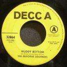 OSBORNE BROTHERS~Muddy Bottom~Decca 32864 Promo 45