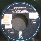 STEVE WINWOOD~The Finer Things~Island 28498 (Synth-Pop) VG+ 45