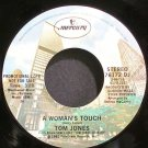 TOM JONES~A Woman's Touch~Mercury 76172 DJ Promo VG+ 45