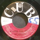 THE WANDERERS~A Little Too Long~CUB K9094 (Doo-Wop)  45
