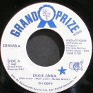 DIXIANA~Dixie Anna~Grand Prize 5200 Promo M- 45
